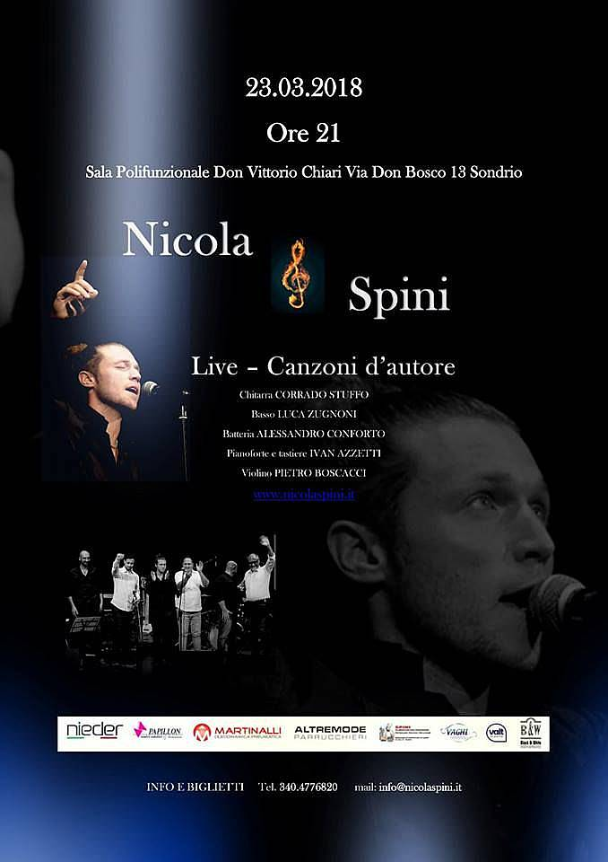 Nicola Spini in concerto